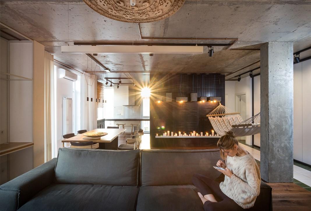 Chic design of True apartment in Kiev by SVOYA studio