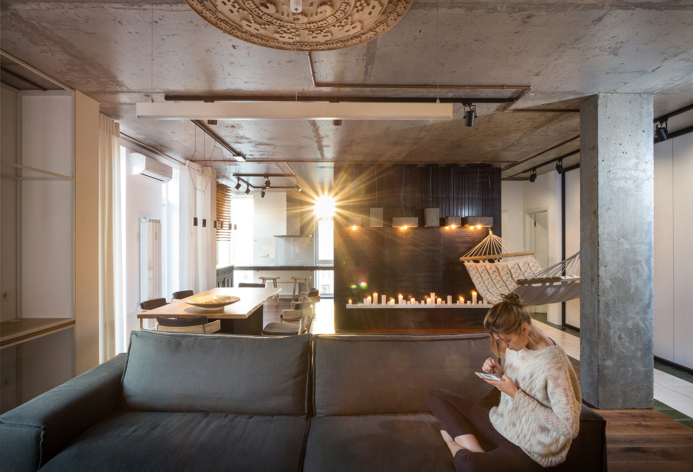 Chic design of true apartment in kiev by svoya studio 01