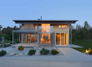 Eco and High-End Technology Alpenchic Home by Bau-Fritz