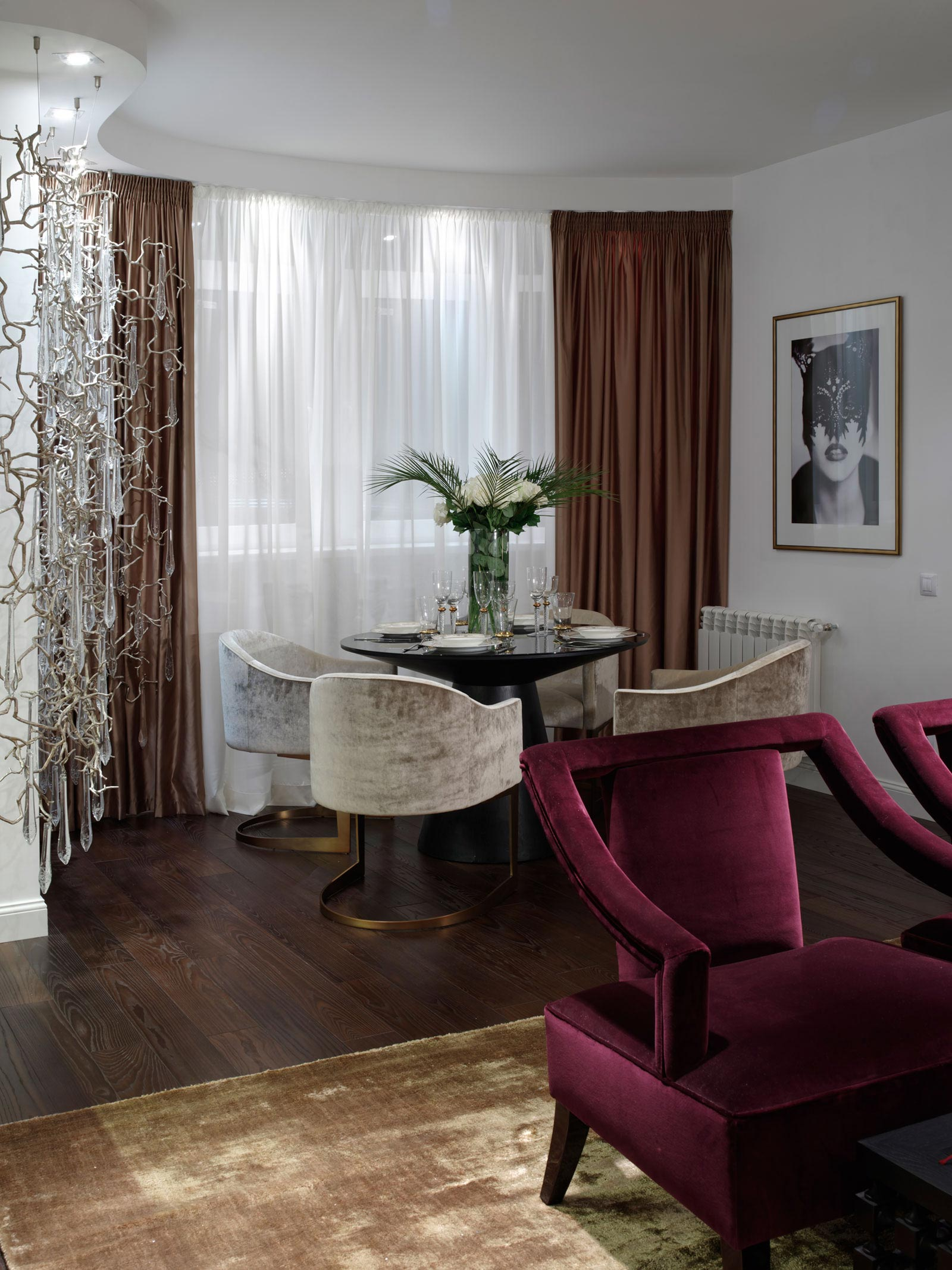 One Bedroom Apartment Decor Elegant One Bedroom Apartment In Kiev By Absolute Interior Decor