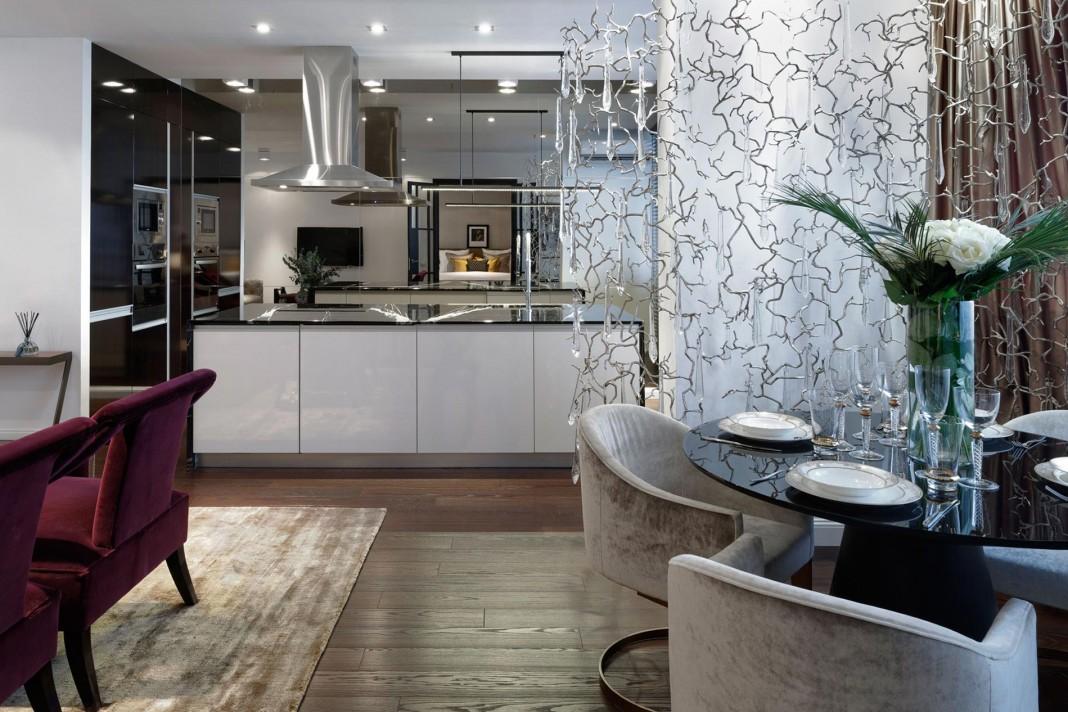 Elegant one bedroom apartment in Kiev by Absolute Interior