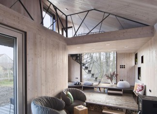 Energy Efficient Wooden House Zilvar by ASGK Design