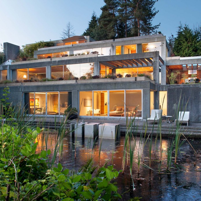 Eppich house renovation in West Vancouver by BattersbyHowat Architects