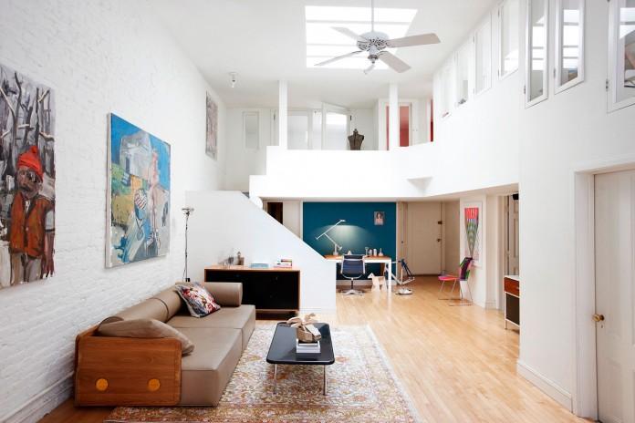 Franklin St. loft in the heart of Manhattan's TriBeCa by Søren Rose Studio