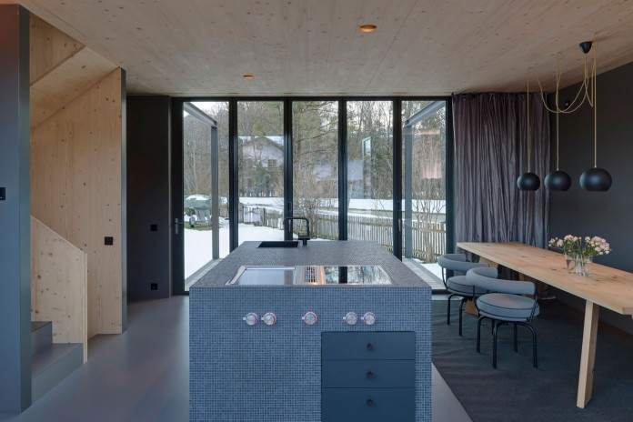 Holzhaus am Auerbach by Arnhard & Eck-13