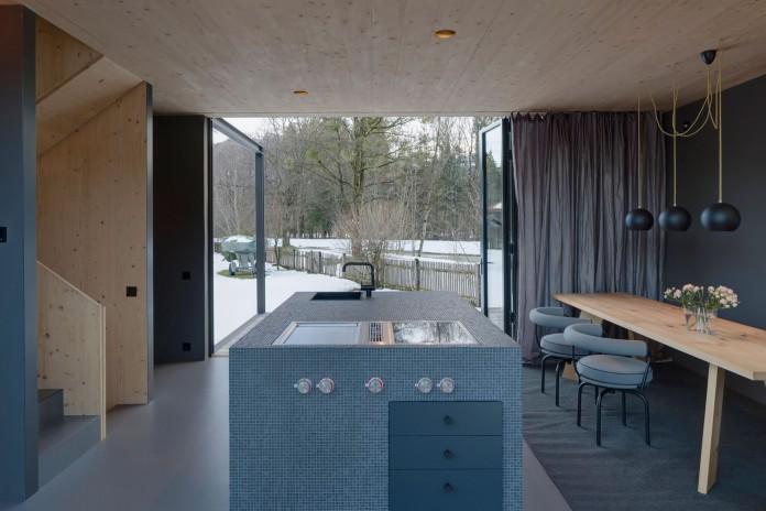 Holzhaus am Auerbach by Arnhard & Eck-14