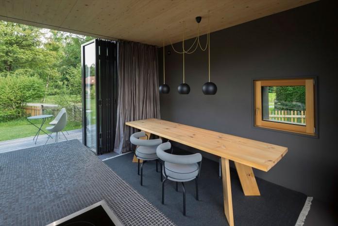 Holzhaus am Auerbach by Arnhard & Eck-16
