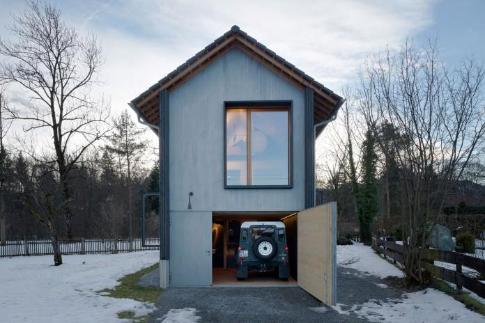 Holzhaus am Auerbach by Arnhard & Eck-25