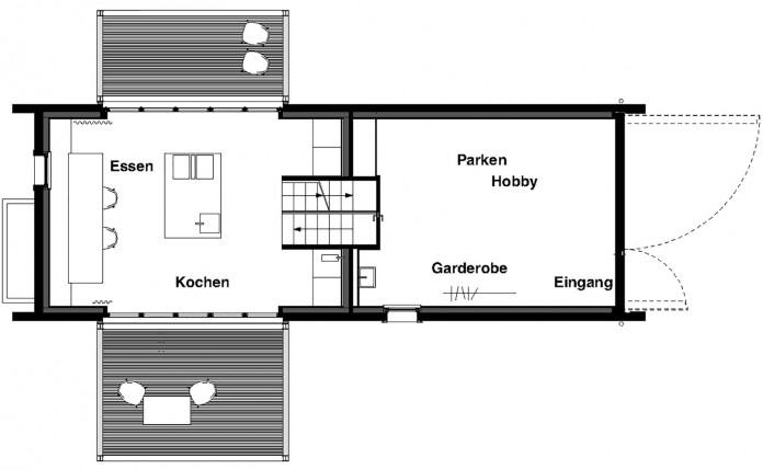 Holzhaus am Auerbach by Arnhard & Eck-29
