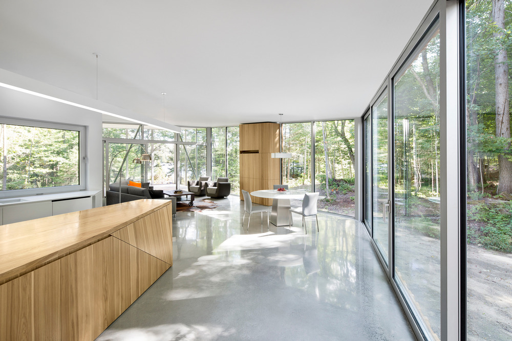 House on Lac Grenier by Paul Bernier Architecte-10