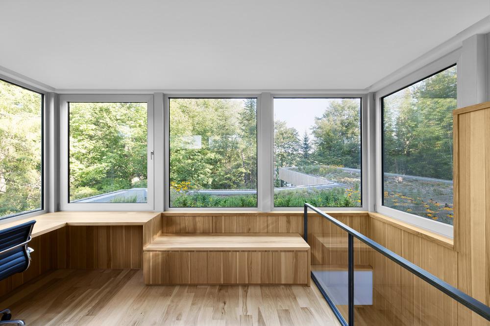 House on Lac Grenier by Paul Bernier Architecte-12
