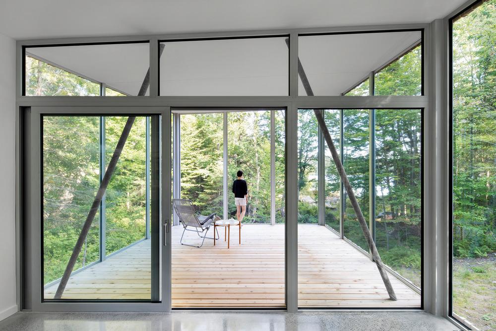 House on Lac Grenier by Paul Bernier Architecte-13