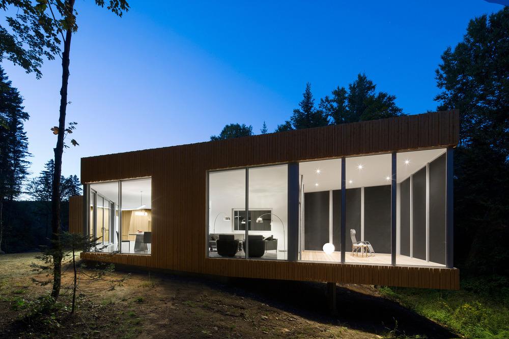 House on Lac Grenier by Paul Bernier Architecte-15