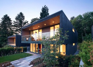 Houses at 1340 by office of mcfarlane biggar architects + designers