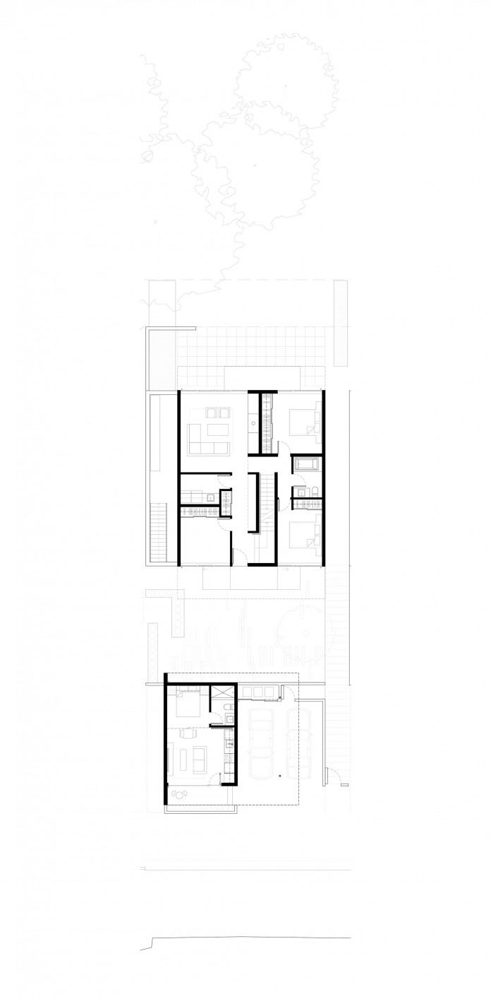 Houses at 1340 by office of mcfarlane biggar architects + designers-16