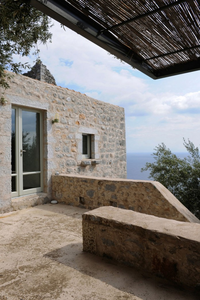 Maina Villa located on an abandoned 18th century megalithic two-storey building by Z-level-06