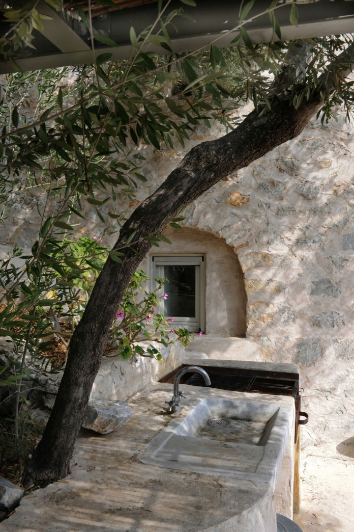 Maina Villa located on an abandoned 18th century megalithic two-storey building by Z-level-09