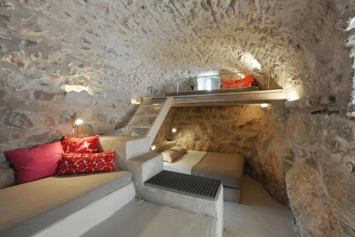 Maina Villa located on an abandoned 18th century megalithic two-storey building by Z-level-12