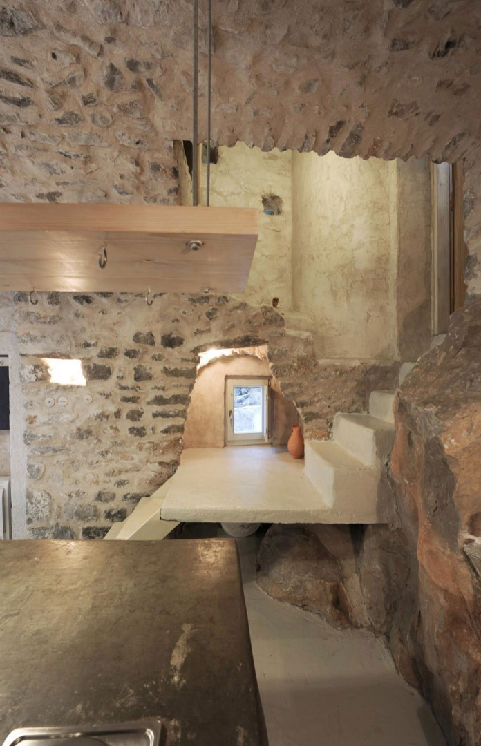 Maina Villa located on an abandoned 18th century megalithic two-storey building by Z-level-21
