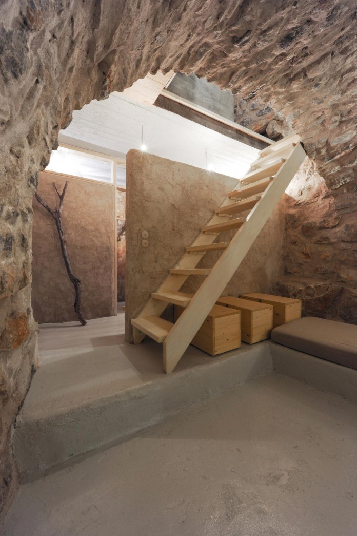 Maina Villa located on an abandoned 18th century megalithic two-storey building by Z-level-22