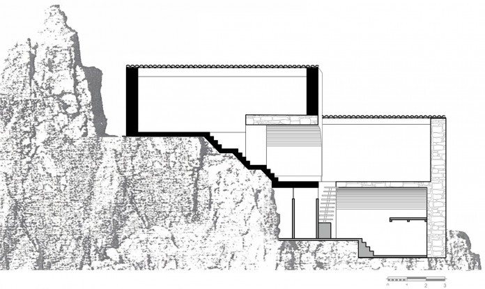 Maina Villa located on an abandoned 18th century megalithic two-storey building by Z-level-32