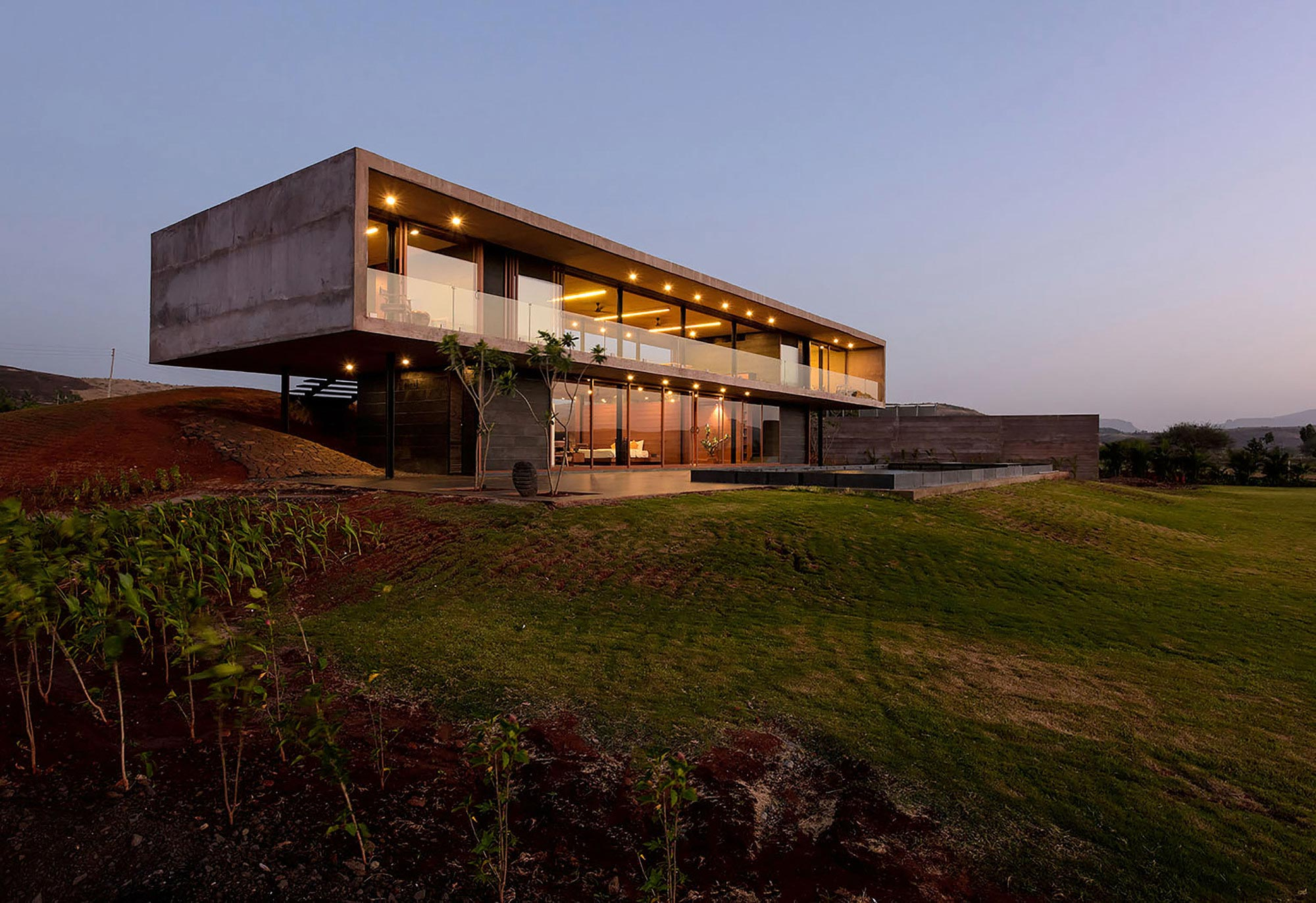 Panorama house by ajay sonar caandesign architecture for Minimal design house