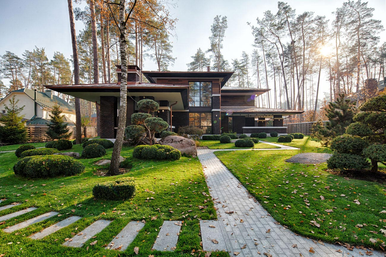 Prairie house by yunakov architecture caandesign for Prairie style garden design