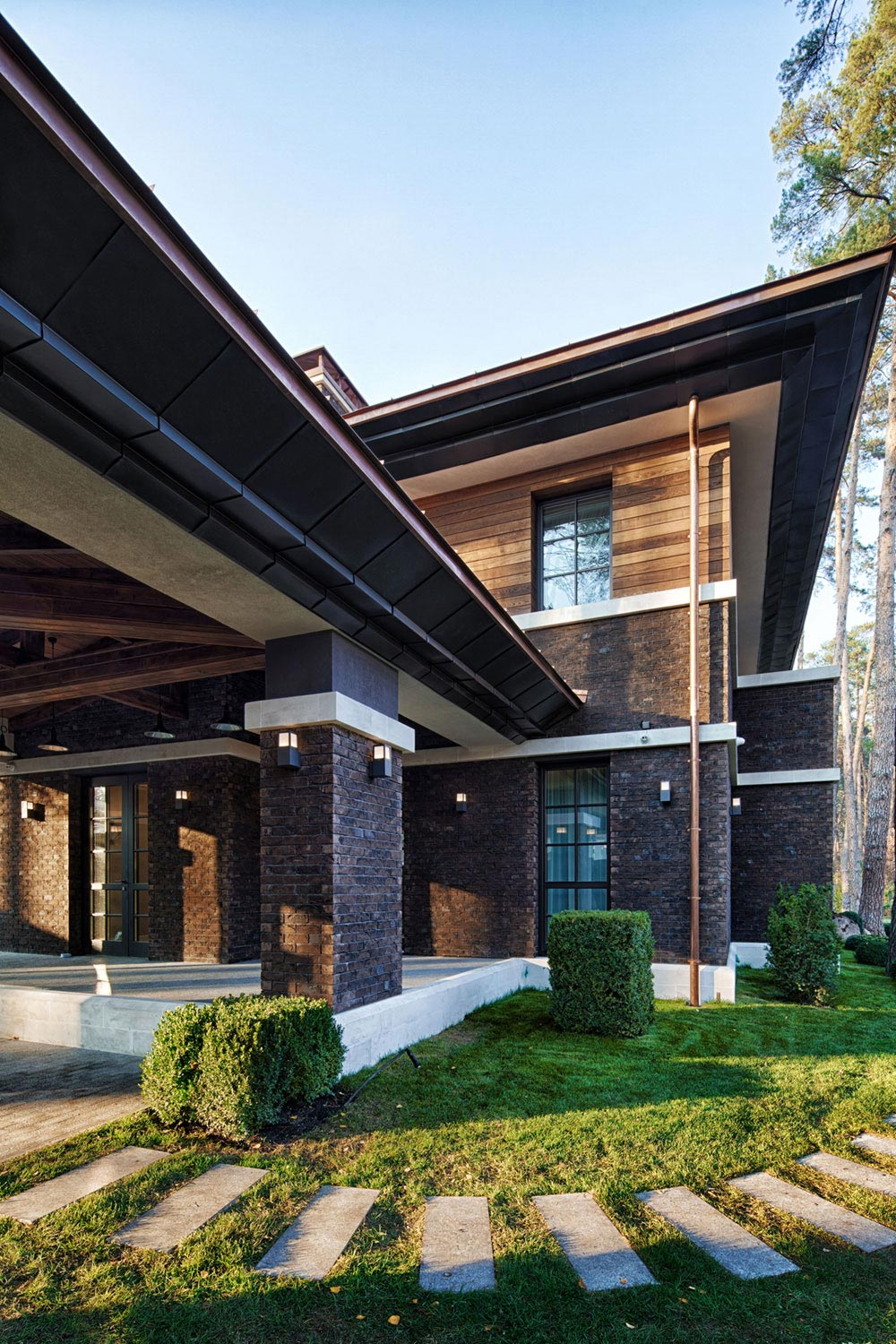 Prairie house by yunakov architecture caandesign architecture and home design blog for What architectural style is my home