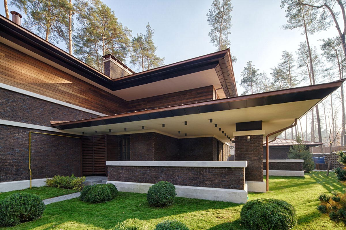 Frank Lloyd Wright Prairie Home Prairie House By Yunakov Architecture Caandesign