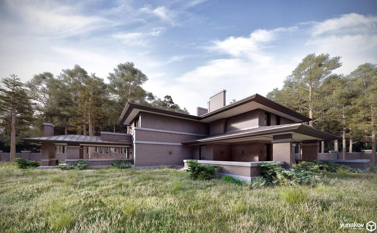 Prairie house by yunakov architecture caandesign - How to design a home ...