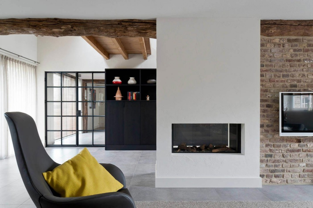 Project V: old home converted into contemporary traditional residence by Doret Schulkes Interieurarchitecten
