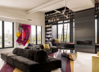Redpath industrial chic apartment by Les Ensembliers