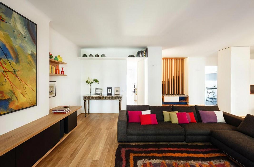 Home design salutati ii duplex apartment by acabadomate for Duplex apartment design