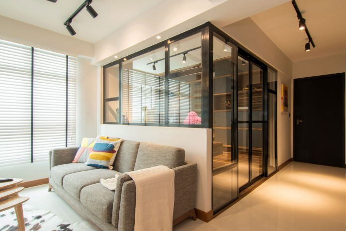 Stylish apartment for young couple in Singapore by Vievva Designers-04