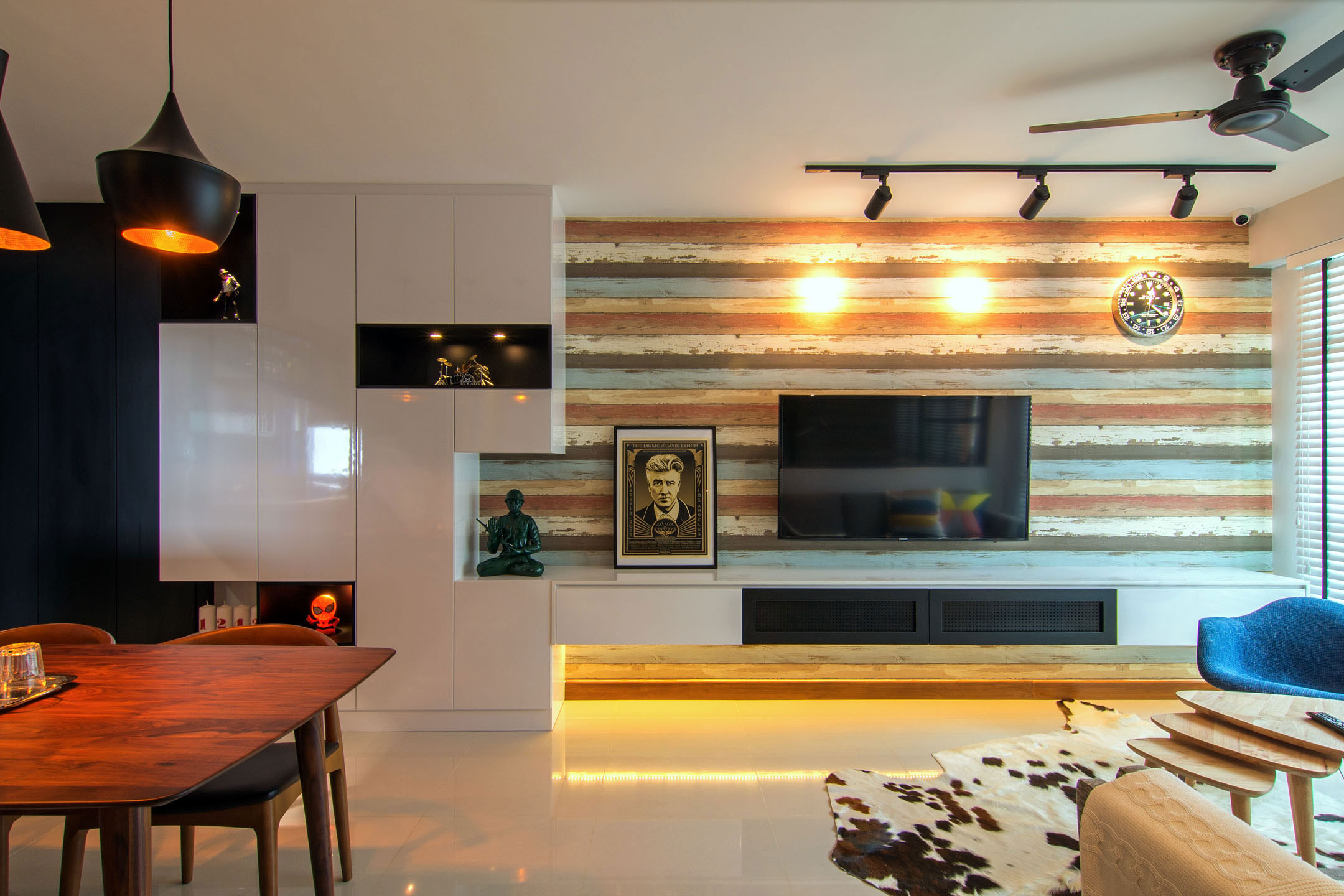 Stylish Apartment For Young Couple In Singapore By Vievva Designers 06