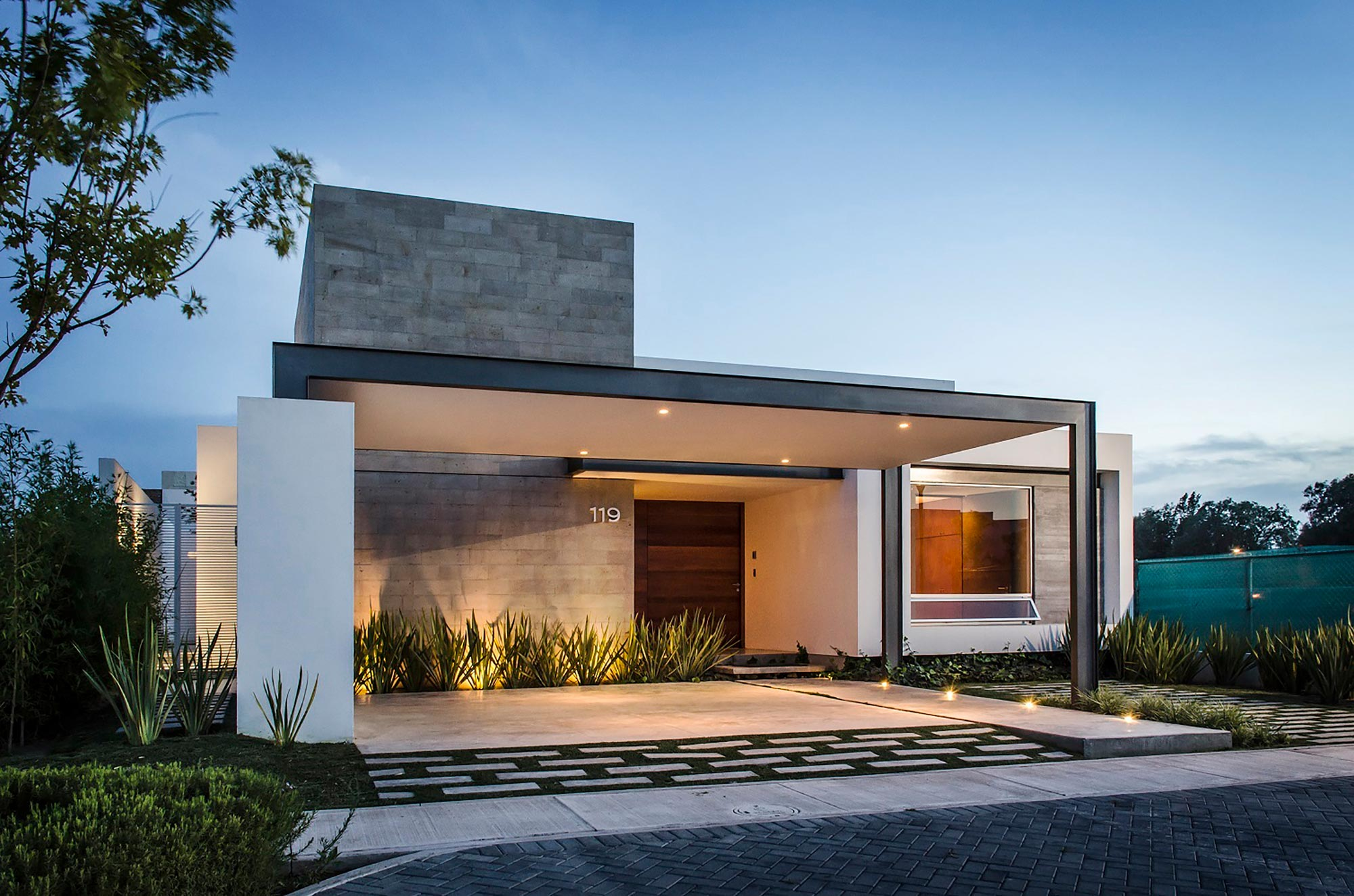 Fotos de casas con decoracion minimalista 73