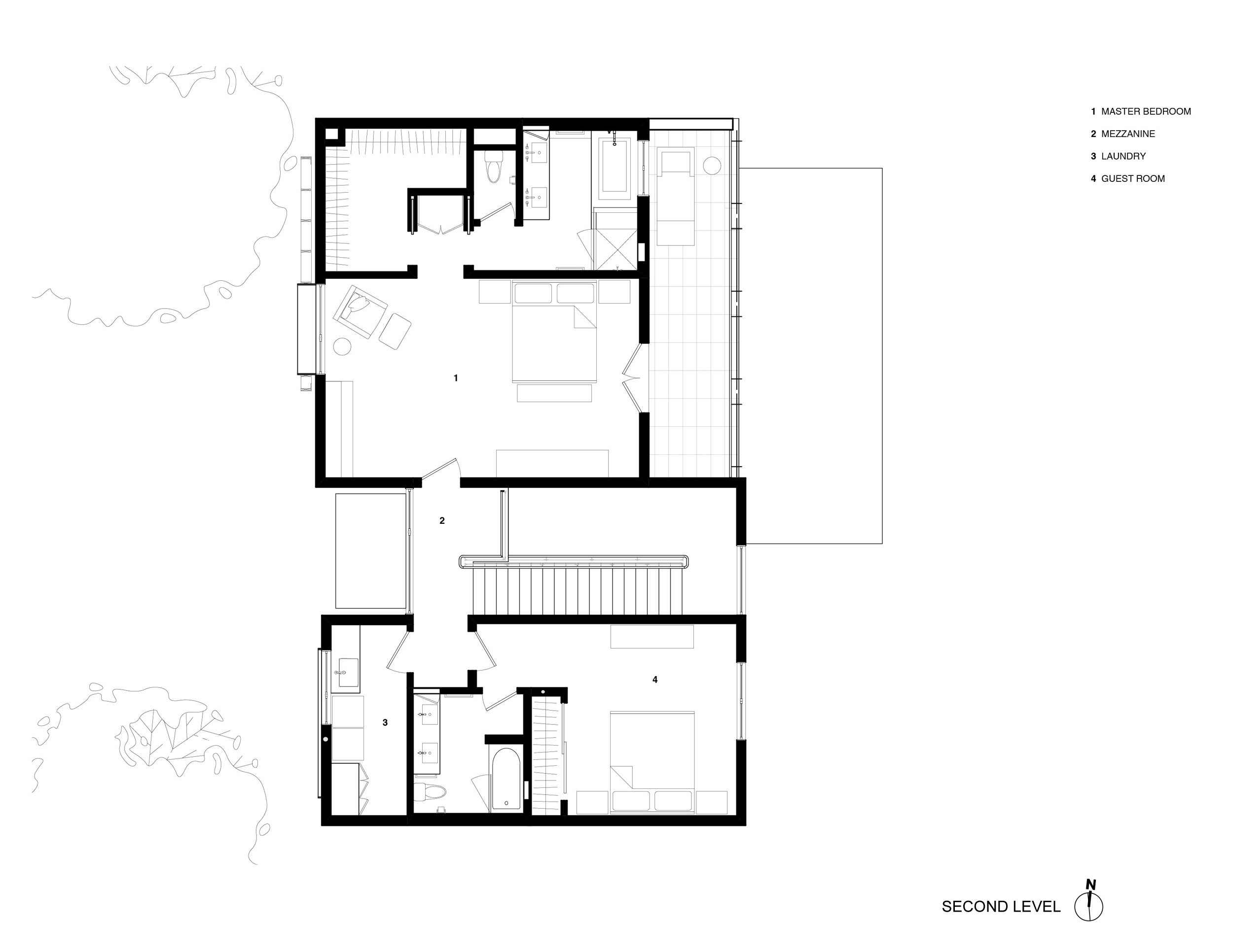 The cohesive modern dwelling Noe residence by Studio VARA-17
