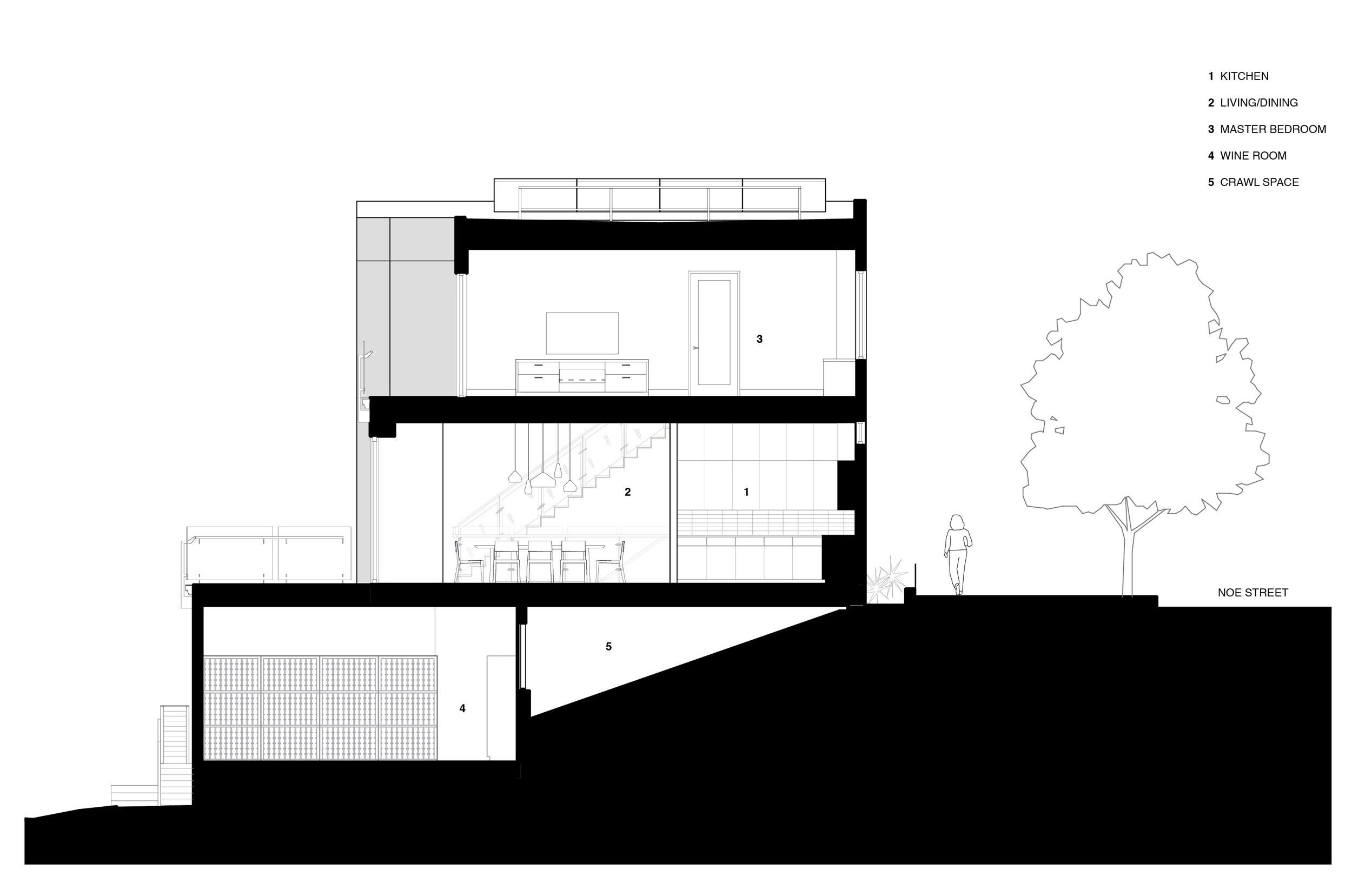 The cohesive modern dwelling Noe residence by Studio VARA-18