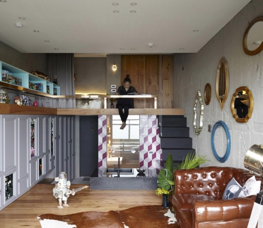 The toy apartment in New Taipei City by KC Design Studio