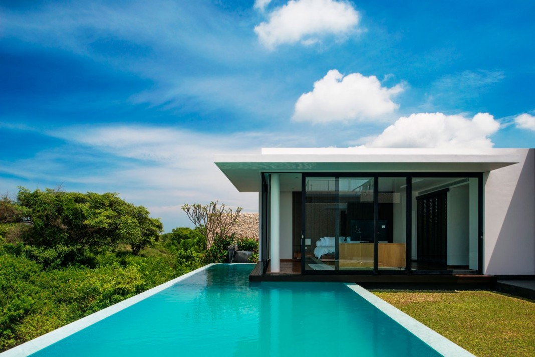 Wrk beach villa by parametr architecture caandesign for Beach villa design