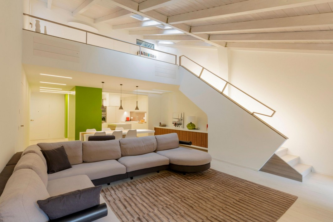 Bologna Attic Apartment by MAMA