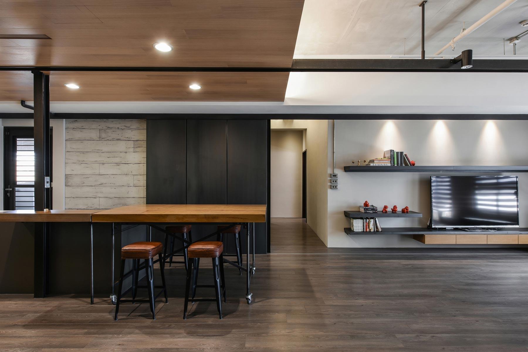 home interior design contemporary loft by aya living group