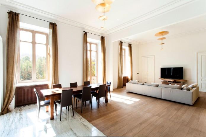 Elegant River Apartment in Turin by deamicisarchitetti