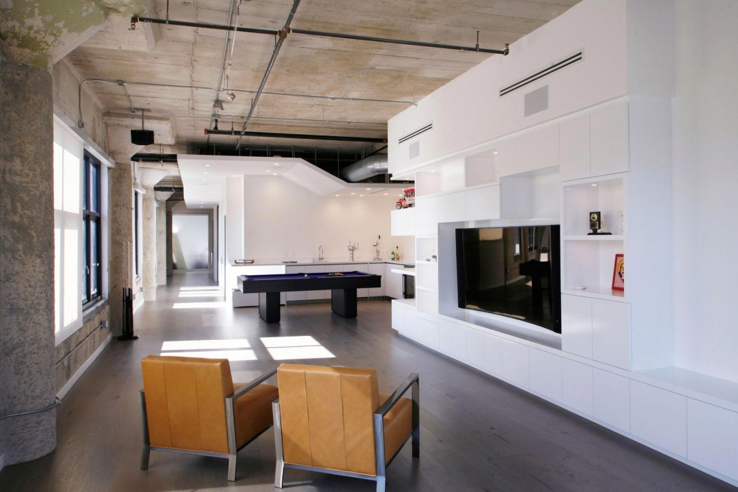 Elegant Twin Loft in Los Angeles by CHA:COL