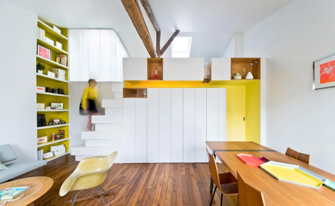 Hike Loft in Paris by SABO Project