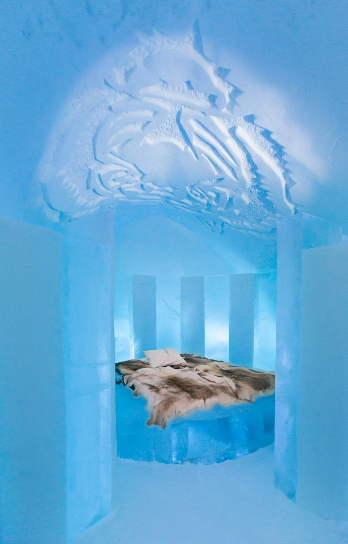 Ice Hotel: the world's first and largest hotel built of snow and ice-12