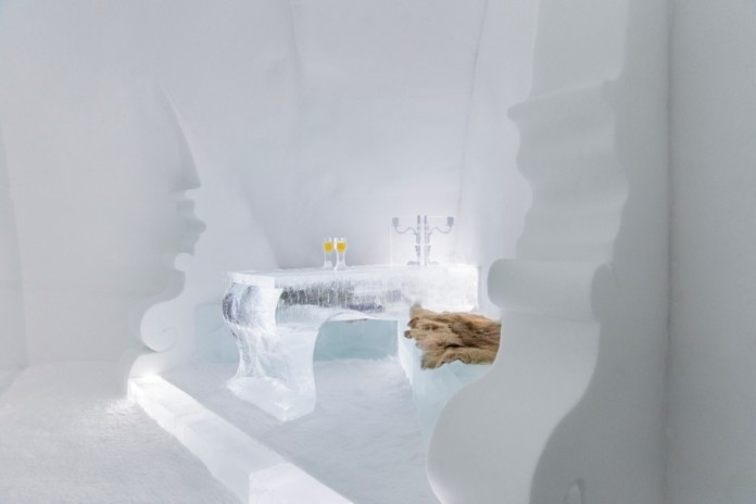 Ice Hotel: the world's first and largest hotel built of snow and ice-18