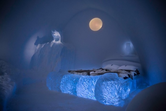 Ice Hotel: the world's first and largest hotel built of snow and ice-20