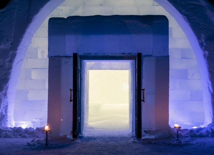 Ice Hotel: the world's first and largest hotel built of snow and ice-22