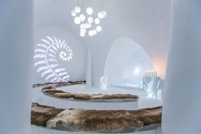 Ice Hotel: the world's first and largest hotel built of snow and ice-23